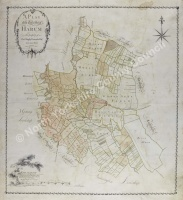 Historic map of Harome 1782
